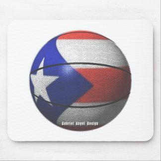 Puerto Rico Basketball Mouse Pad