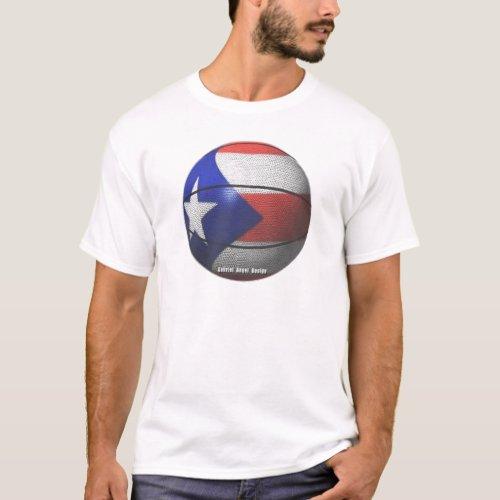 Puerto Rico Basketball T_Shirt