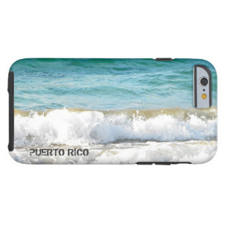 Puerto Rico Beach Tough iPhone 6 Case