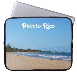 Puerto Rico Beach Computer Sleeves