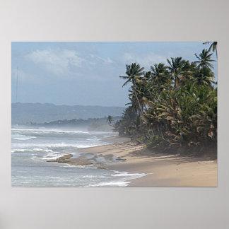 Puerto Rico Beach Poster