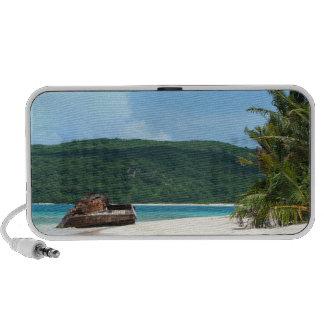 Puerto Rico Beach Tank Mini Speaker