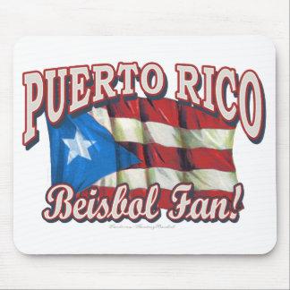Puerto Rico Beisbol Fan! Mousepad