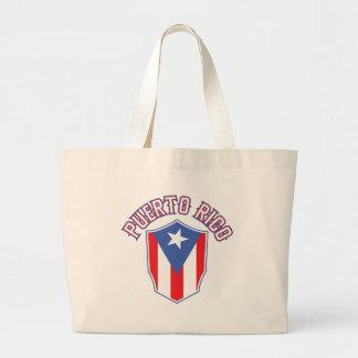 Puerto Rico Big and Bold Jumbo Tote Bag