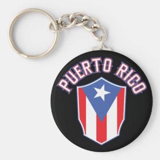 Puerto Rico Big and Bold Keychain