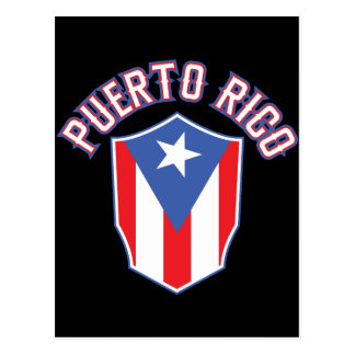 Puerto Rico Big and Bold Postcard