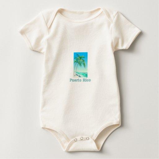 Puerto Rico Body Para Bebé