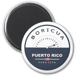 Puerto Rico Boricua de Pura Cepa Magnet