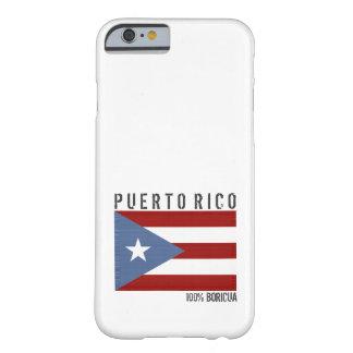Puerto Rico Boricua Funda De iPhone 6 Barely There