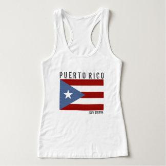 Puerto Rico Boricua Playera Con Tirantes