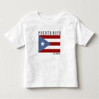 Puerto Rico Boricua Toddler T-shirt