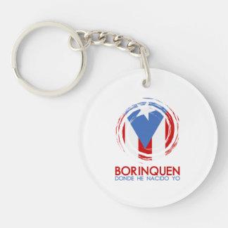 Puerto Rico Borinquen Keychain