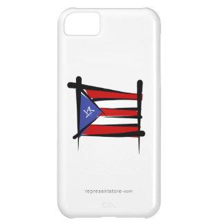 Puerto Rico Brush Flag iPhone 5C Cover