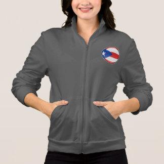 Puerto Rico Bubble Flag Jacket