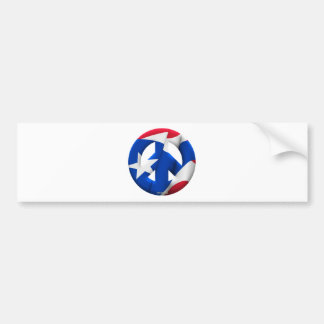 Puerto Rico Car Bumper Sticker