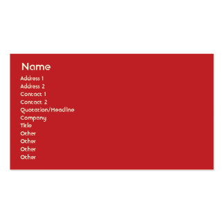 Puerto Rico - Business Business Cards
