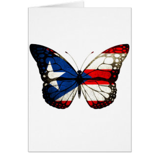 Puerto Rico Butterfly Card