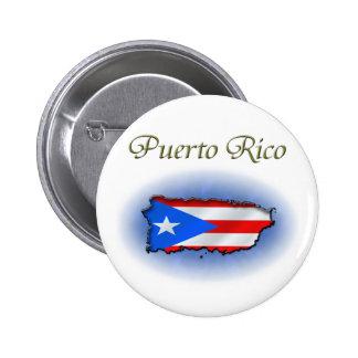 Puerto Rico 2 Inch Round Button