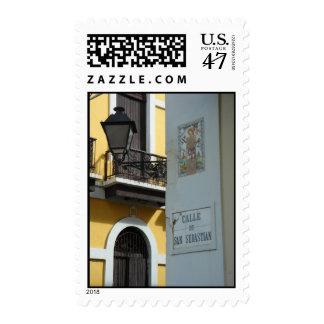 Puerto Rico Calle De San Sebastian Postage
