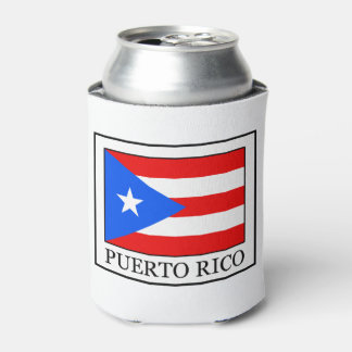 Puerto Rico Can Cooler