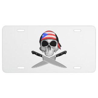 Puerto Rico Chef License Plate