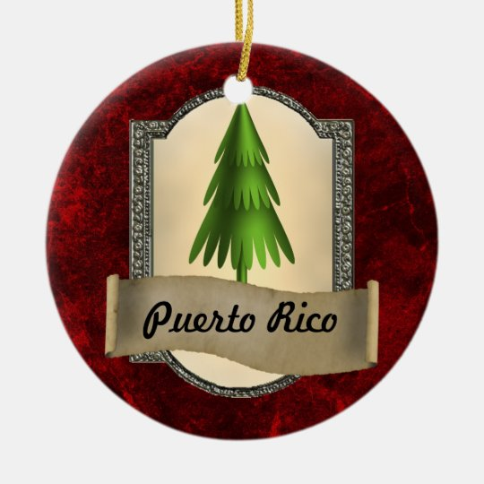 puerto rico christmas ornament