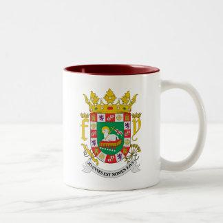Puerto Rico COA Two-Tone Coffee Mug