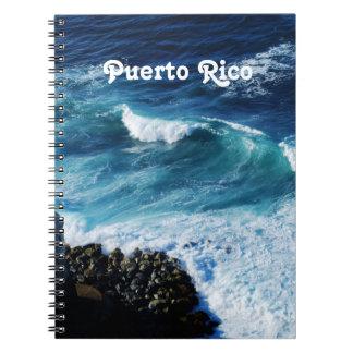 Puerto Rico Coast Spiral Note Books