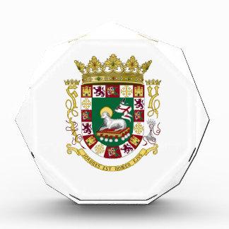 Puerto Rico Coat of Arms Acrylic Award