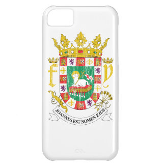Puerto Rico Coat Of Arms Case For iPhone 5C