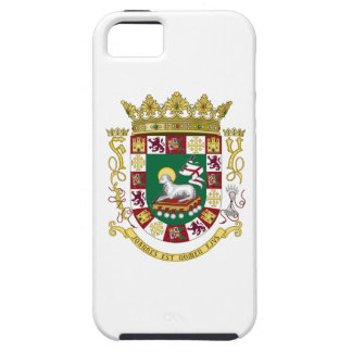 Puerto Rico Coat of Arms iPhone SE/5/5s Case