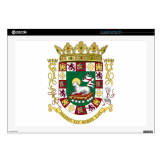 Puerto Rico Coat of Arms Laptop Skin
