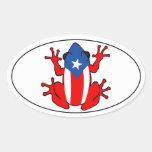 Puerto Rico - Coqui Sticker