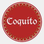 Puerto Rico: Coquito Sticker