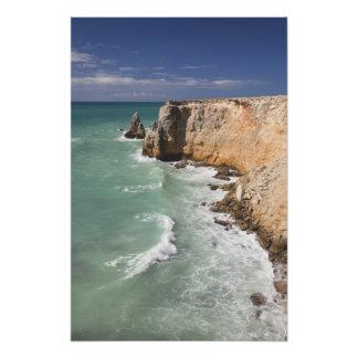 Puerto Rico, costa oeste, Cabo Rojo, costa costa Impresion Fotografica