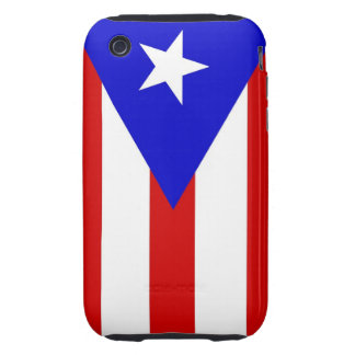 puerto rico country flag case iPhone 3 tough cases