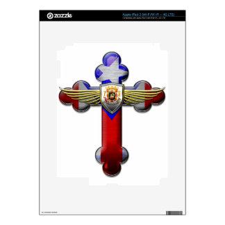 Puerto Rico - Cross & Seal iPad 3 Decals