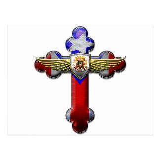 Puerto Rico - Cross & Seal Post Card