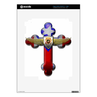 Puerto Rico - Cross & Seal Skins For iPad 2