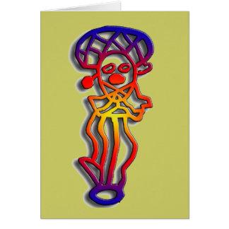 Puerto Rico - dancer - Customized Card