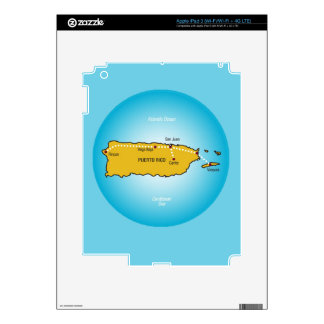 Puerto Rico Decal For iPad 3