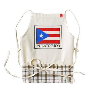 Puerto Rico Delantal Zazzle HEART