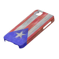 Puerto Rico distressed Puerto Rican flag iPhone SE/5/5s Case