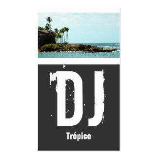 Puerto Rico DJ Tarjetas De Visita
