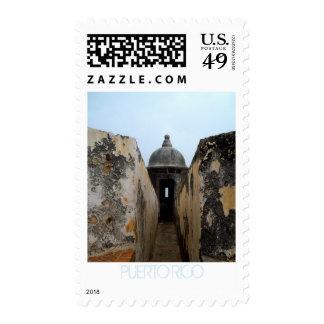 Puerto Rico, El Morro Postage Stamp