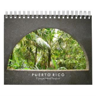 Puerto Rico: El Yunque Calendar