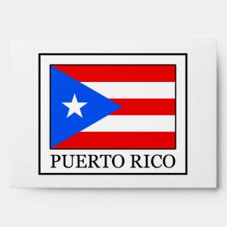 Puerto Rico Envelope