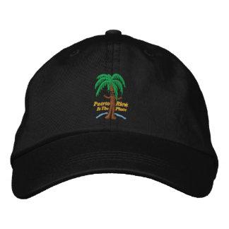 Puerto Rico es el gorra bordado lugar Gorra De Beisbol