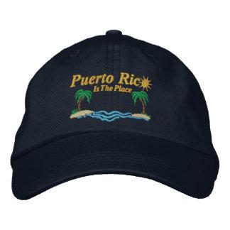 Puerto Rico es el lugar Gorra De Béisbol