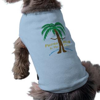 Puerto Rico es la ropa del mascota del lugar Camiseta De Perrito